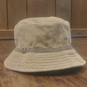 🌼EUC Aero Tan Corduroy Brown Buckle Bucket Hat